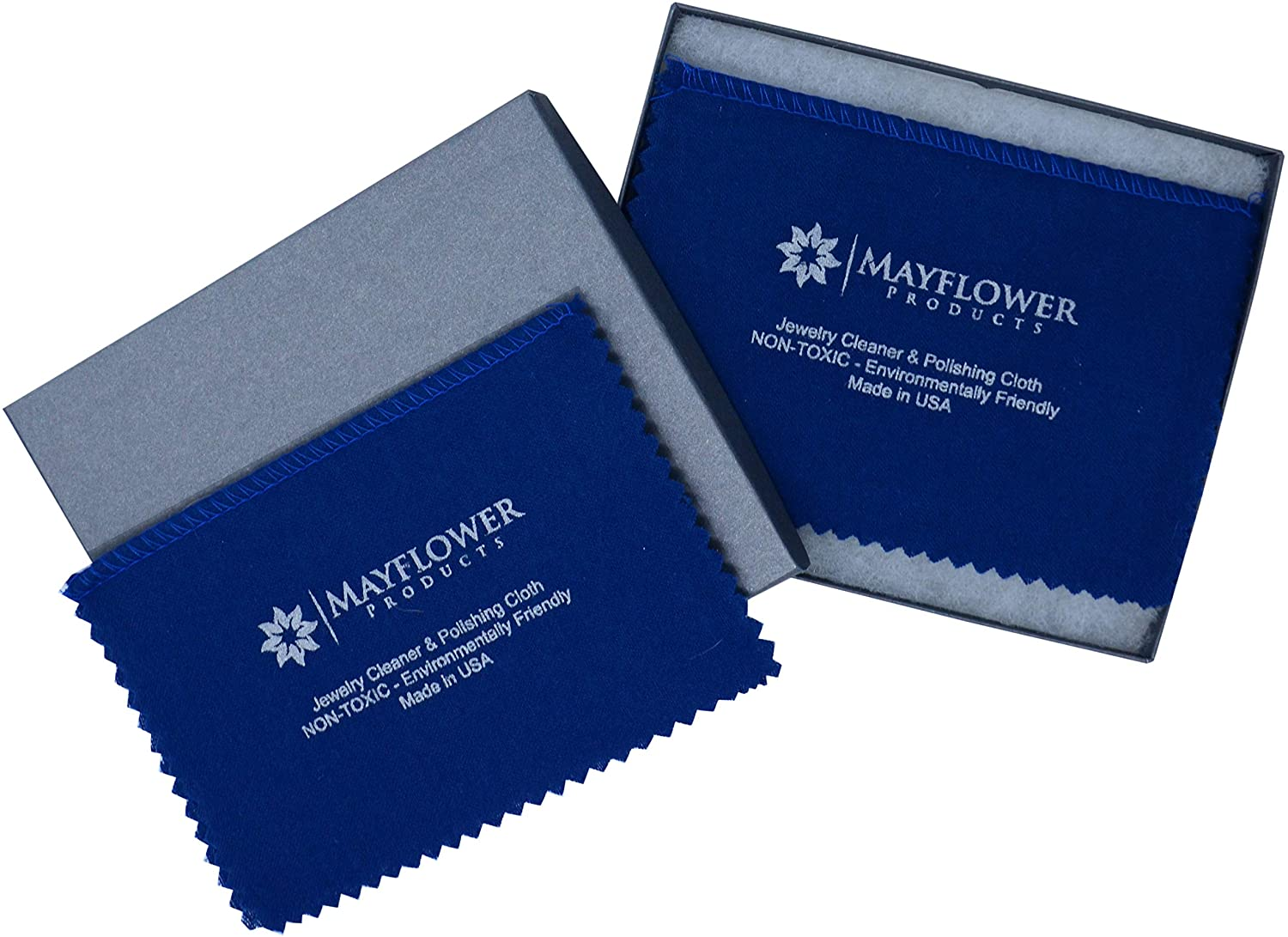 Mayflower jewelry polishing cloths