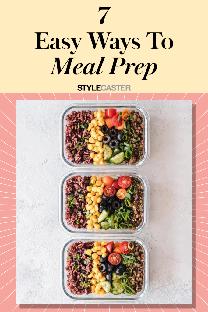 STYLECASTER | easy meal prep ideas | how to meal prep | meal prep hacks | meal prep for the week | meal prep for beginners | meal prep lunch | meal prep breakfast