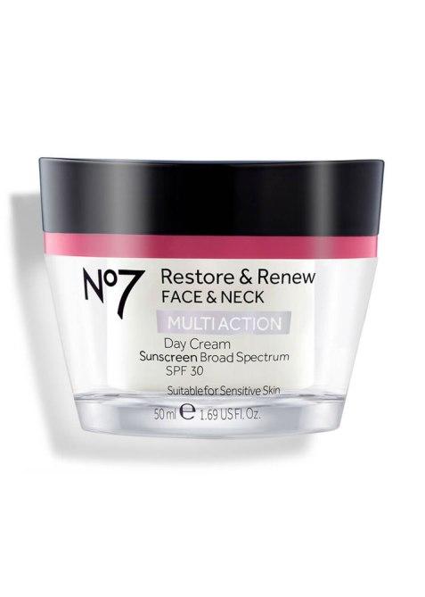 No7 Restore & Renew Multiaction Face & Neck Day Cream SPF 30