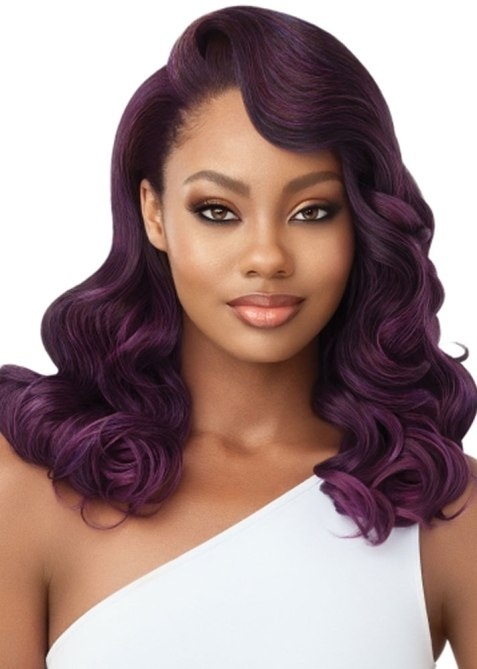 Outre Anjou Synthetic Hair Half Wig