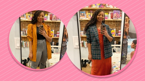 Shopping In My Own Closet Helped Me Master 2020's Pattern Mixing Trend | StyleCaster