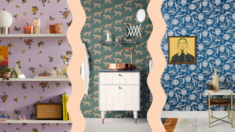 Removable Wallpapers To Beautify Your Space That Double As Cute Zoom Backgrounds | StyleCaster