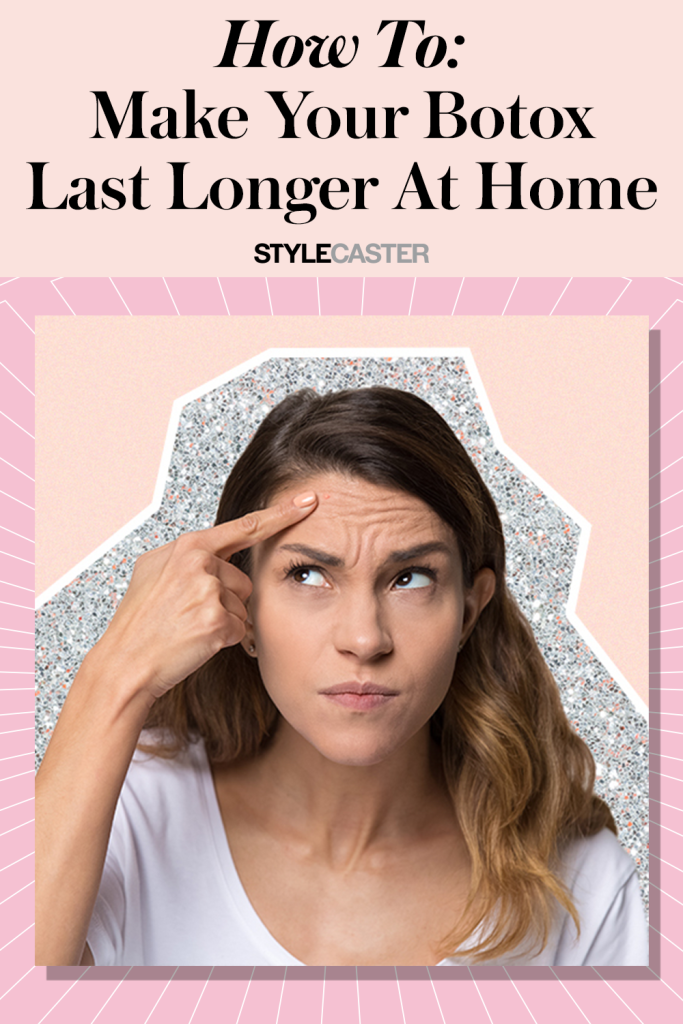 STYLECASTER | how to prolong botox and filler at home | products like botox | at home botox