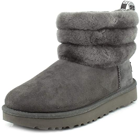 UGG quilted fluff bootie