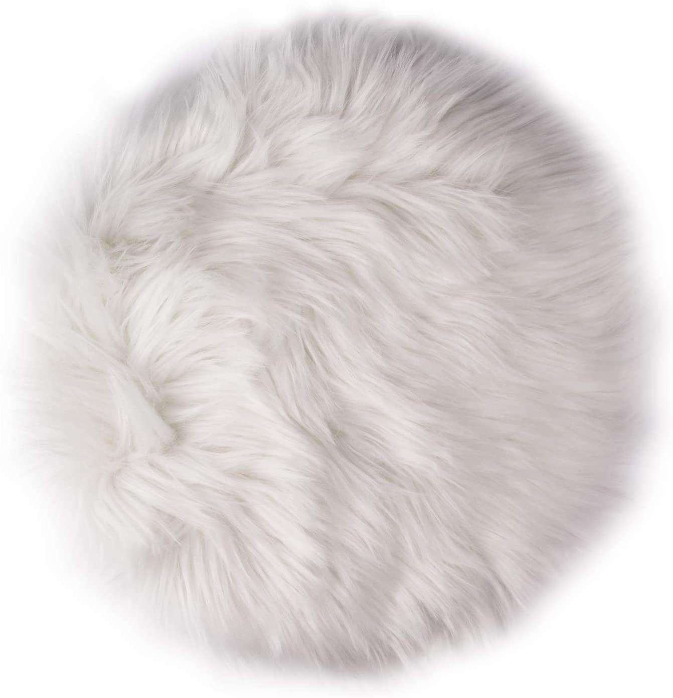 Sansheng faux fur pillow amazon