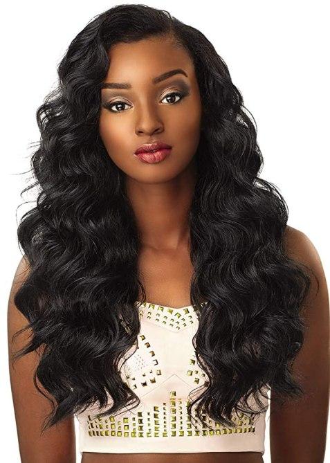 Sensationnel 100% Premium Fiber Instant Weave Synthetic Half Wig