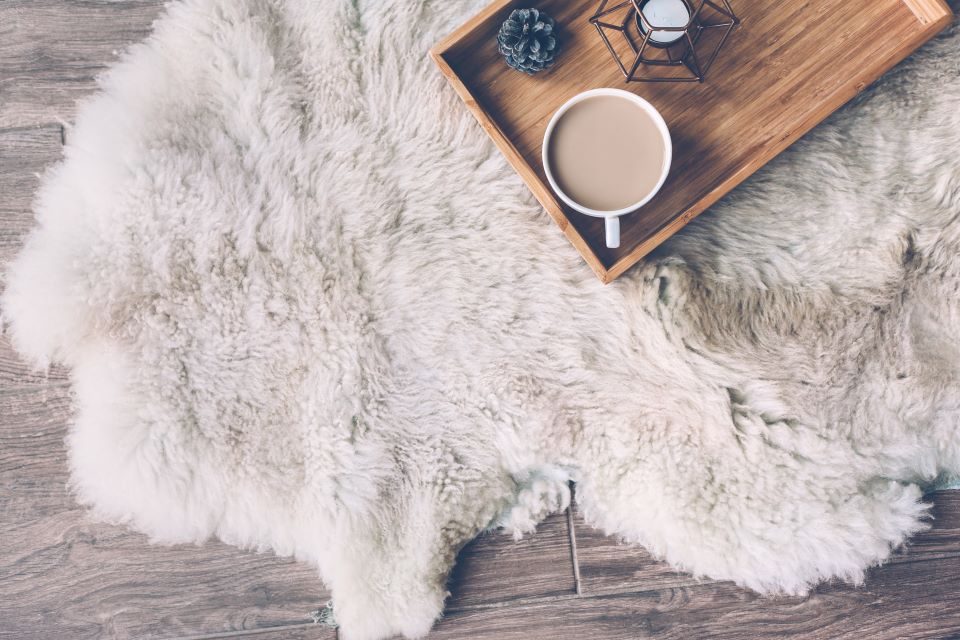 Vegan-Friendly Sheepskin Rugs to Add a Little Texture to Your Space