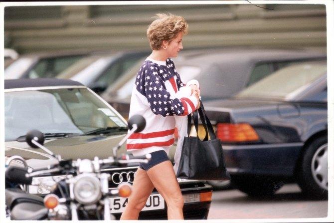STYLECASTER   Princess Diana Casual Style