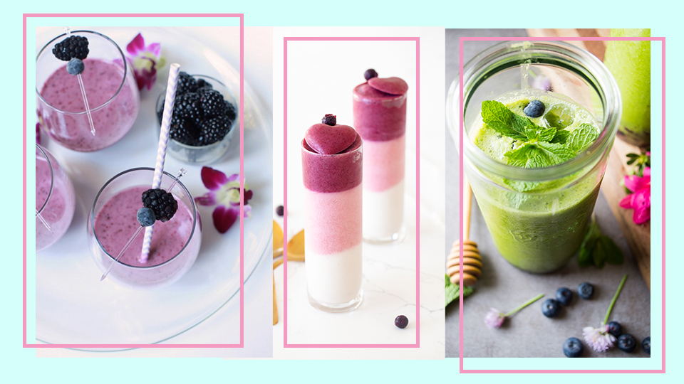 14 Berry Smoothies You Can Make At Home For A Tropical Treat