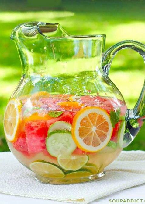 Soupaddict Homemade Vitamin Water