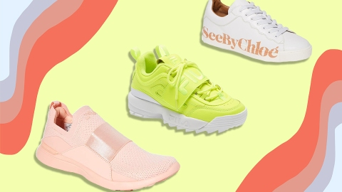 The Summer 2020 Sneakers Trends Are a Street Style Lewk Just *Waiting* to Happen | StyleCaster