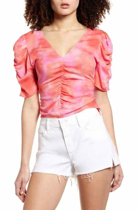 STYLECASTER | Coachella Fashion Trends 2020 | tie-dye top