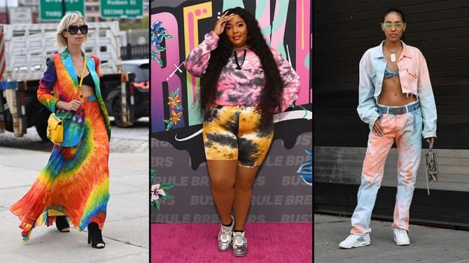 STYLECASTER | Tie Dye Trend 2020 | pink floyd tee