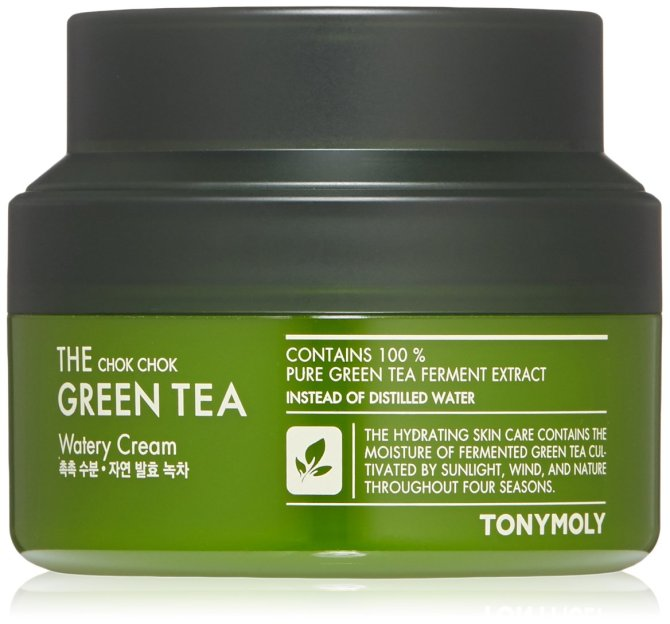 tonymoly chok green watery cream