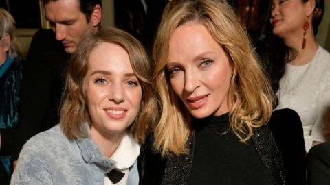 Watch Uma Thurman Give Her Daughter Maya Hawke a Haircut You Might Recognize | StyleCaster