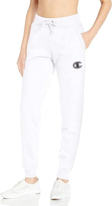 STYLECASTER | Tie Dye Trend 2020 | white sweatpants champion