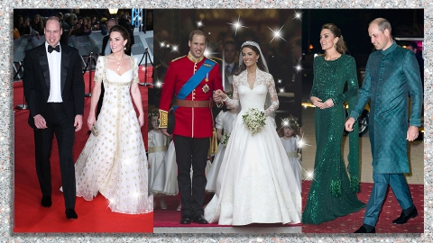 Happy Anniversary, Will & Kate! A Roundup Of Their Best Couples Slays | StyleCaster