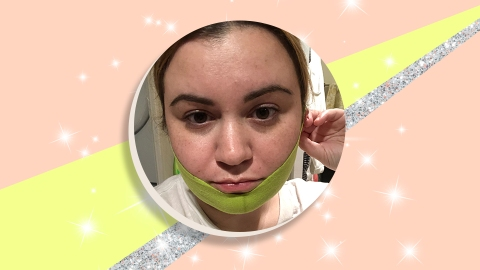 I Tried Huda's Beauty's Chin-Sculpting Mask and Here are My Honest Thoughts | StyleCaster