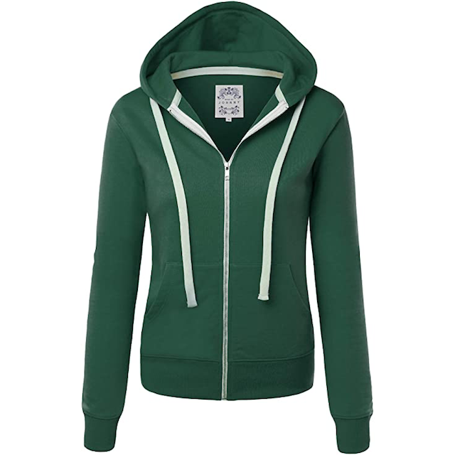 zip up hoodies for women made by johnny Classic Zip Up Hoodies for Women to Lounge Around Or Run Laps In