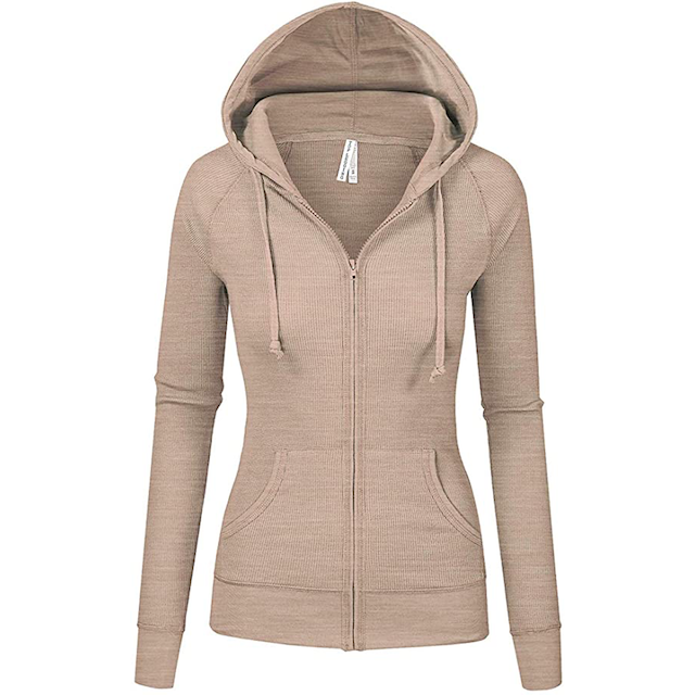 The Best Zip Up Hoodies for Women You Can Buy on Amazon | StyleCaster
