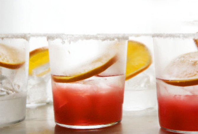 STYLECASTER | Cinco de Mayo Cocktail Ideas | rhubarb tequila cocktail