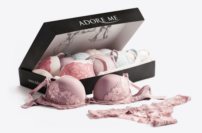 STYLECASTER | Best Subscription Boxes | adore me lingerie