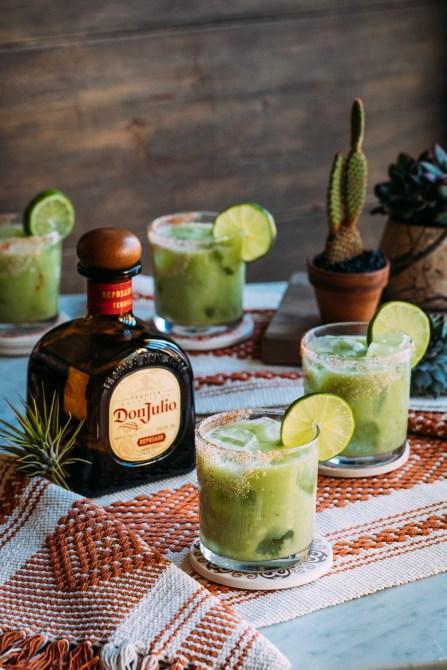 STYLECASTER | Cinco de Mayo Cocktail Ideas | keto avocado marg