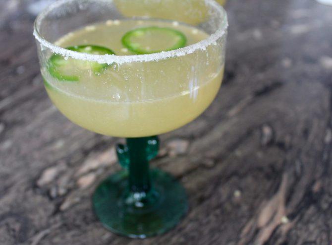 STYLECASTER | Cinco de Mayo Cocktail Ideas | jalapeno margarita