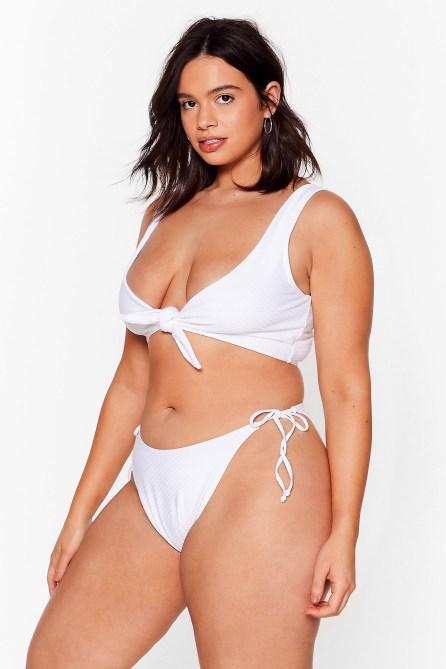 STYLECASTER | String Bikini Trend | nasty gal white bikini