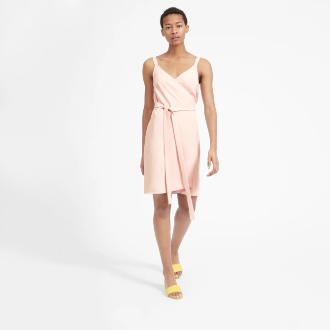 STYLECASTER | Everlane Sale May 2020 | pink dress