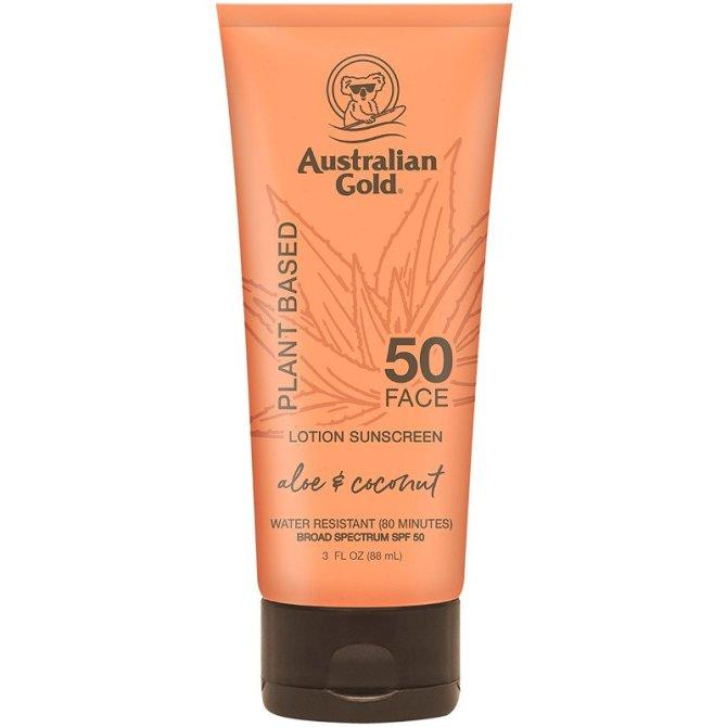 Australian Gold Plant Based Sunscreens