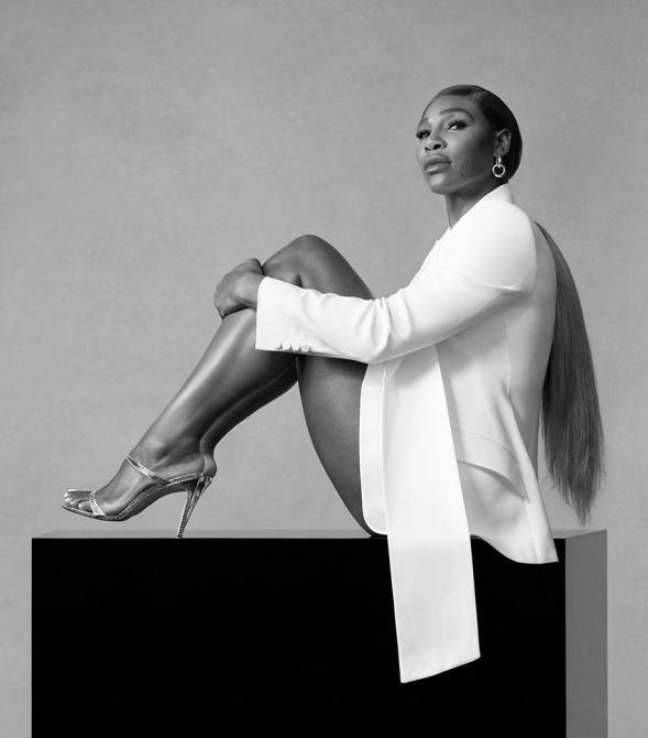 STYLECASTER | Serena Williams Stuart Weitzman Campaign