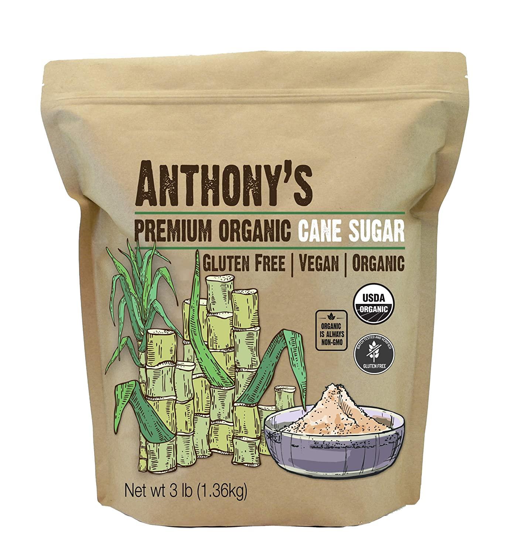 Anthony's cane sugar amazon