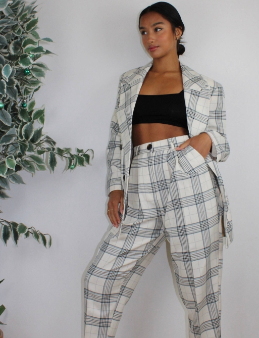 STYLECASTER | Summer 2020 Fashion Trends | ASOS check suit
