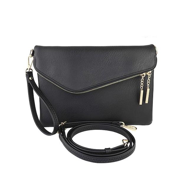 B BRENTANO Fold-Over Bag