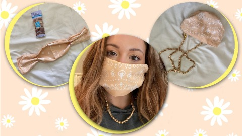 The Easiest Way To Make A Face Mask With A Bandana | StyleCaster