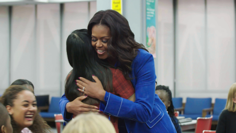 Malia & Sasha Obama Had the Sweetest Reaction to Mom Michelle's New Documentary | StyleCaster
