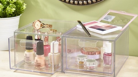 The Best Beauty Organizers with Lids to Keep Your Collection Looking Pristine   StyleCaster