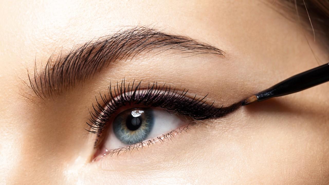 Smooth Black Eyeliner That Won't Skip or Smudge