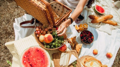 Cute Picnic Baskets That'll Allow You to Rosé All Day | StyleCaster