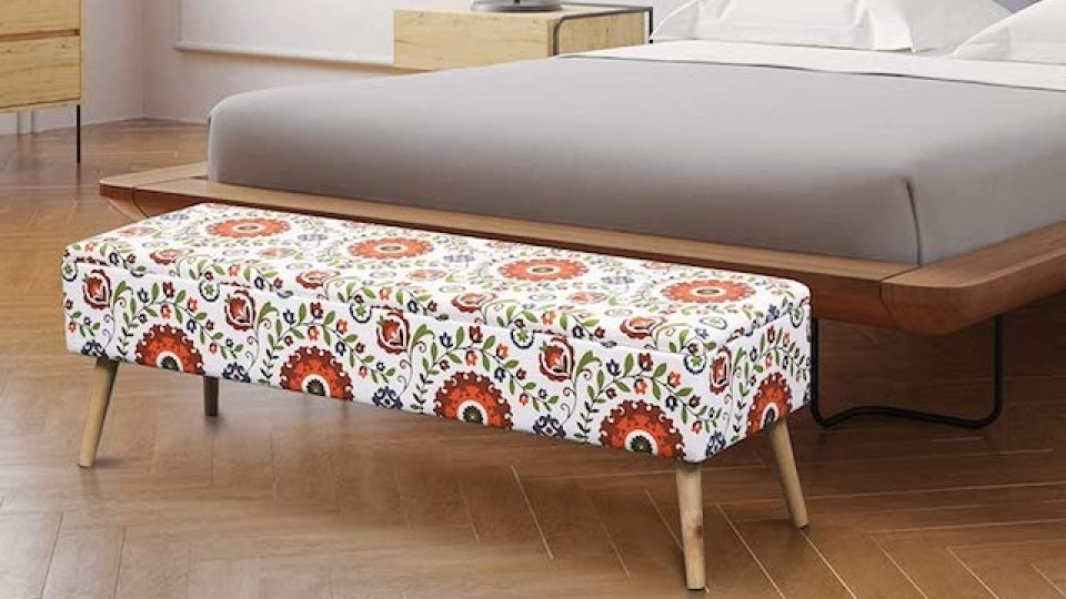 These Bohemian Benches Will Add Free-Spirited Flair to Your Living Space   StyleCaster