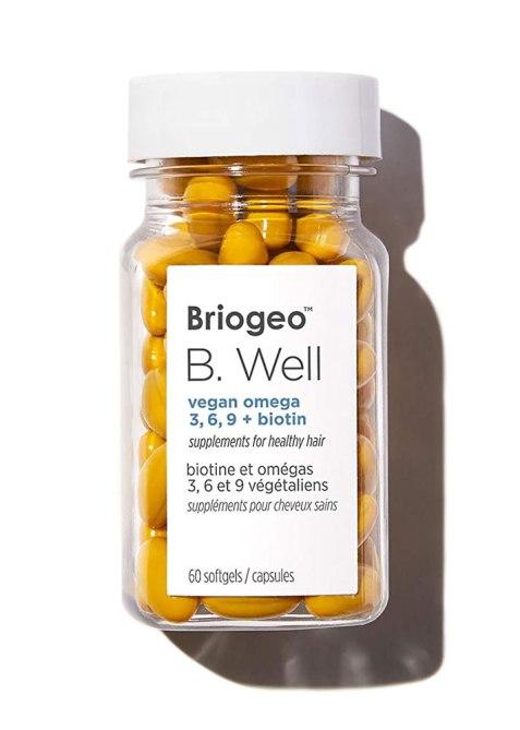 Briogeo B.Well Vegan Omega 3, 6, 9 + Biotin Supplements