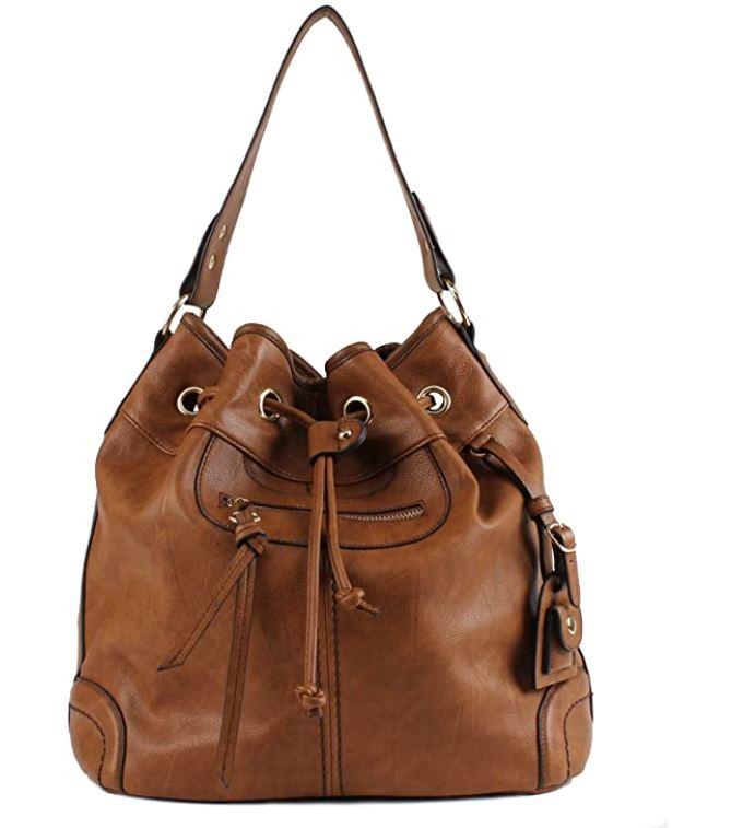 Scarleton Scarleton Large Drawstring Handbag H1078
