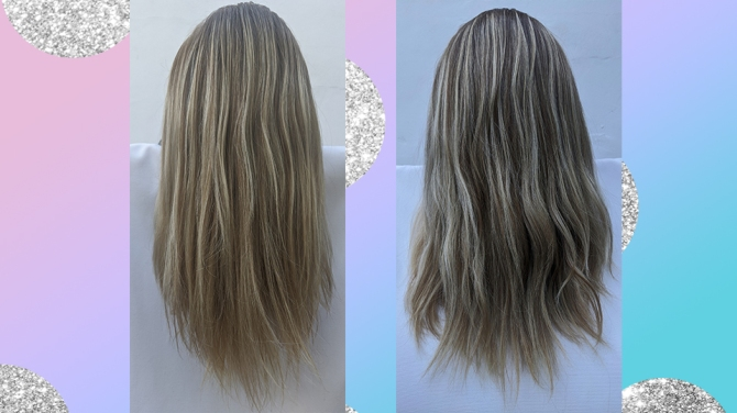 cassondra kaeding color kit before and after
