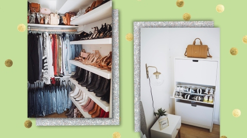 An Influencer With A LOT Of Clothes Shares Her Best Closet Organization Tips | StyleCaster