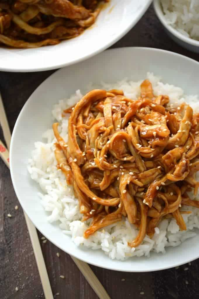 STYLECASTER | gluten-free slow cooker recipes | slow cooker teriyaki chicken