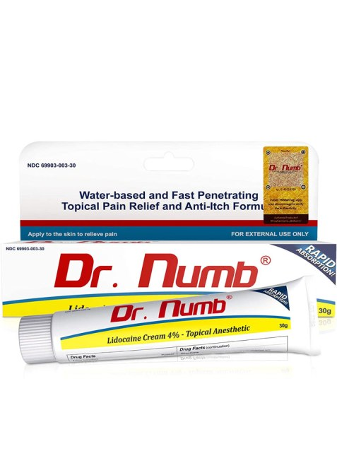 Dr. Numb Topical Anesthetic Numbing Cream