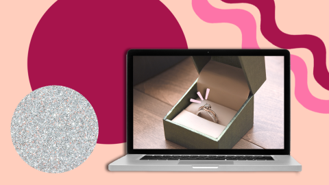 Here's Where To Buy Engagement Rings Online—Because Yes, It's Totally An Option | StyleCaster