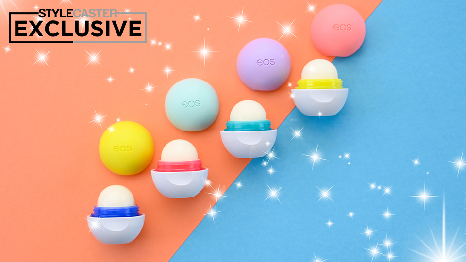 EOS's New Lip Balms Smell Like Self-Care Should Feel: EXCLUSIVE