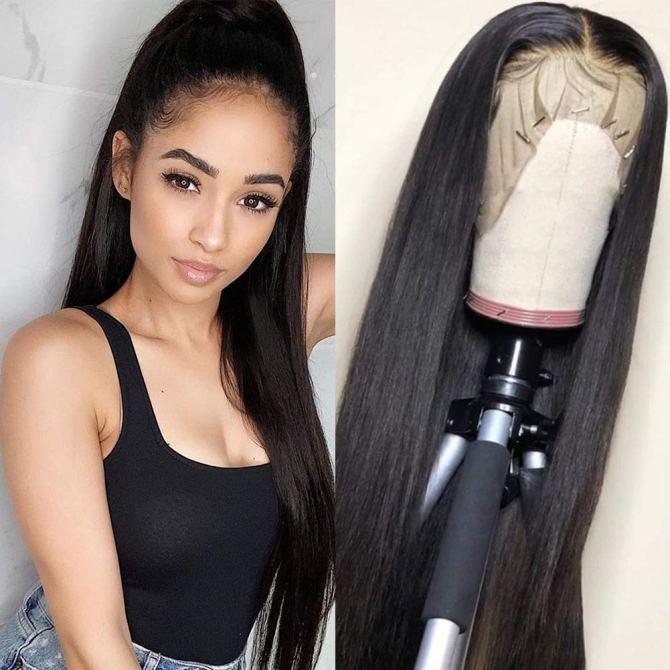 Flady 150% Density Straight Hair Wig
